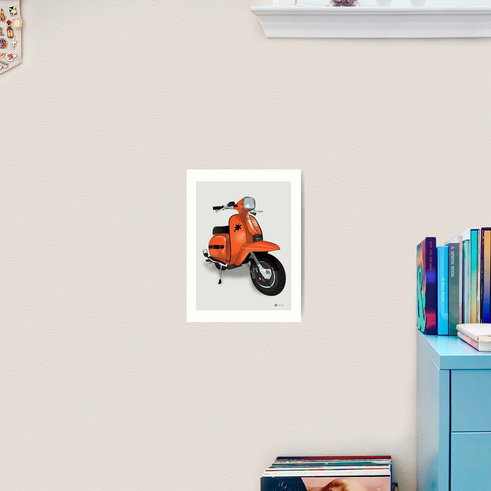 Lambretta GP - By Collibosher Art Print