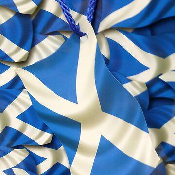 Scottish Saltire Greetings by angel1