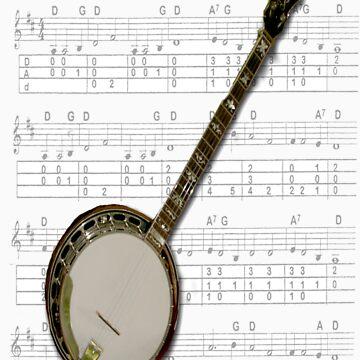 Banjo by RareTexasGifts