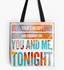 Melody and Harmony Tote Bag