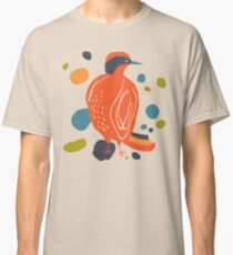 Quirky Helmeted Honeyeater Classic T-Shirt