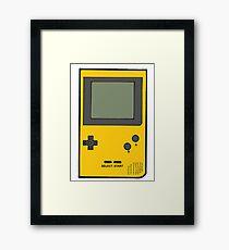 GAME BOY Framed Print