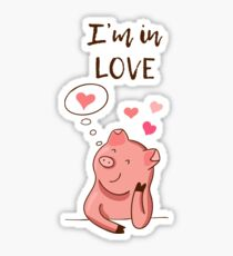 i'm in love Sticker