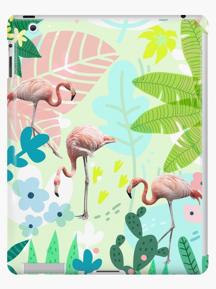 Flamingo jungle by Gale Switzer