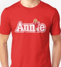 Annie Broadway Musical Show Movie Orphan Film Vintage Distressed Unisex T-Shirt