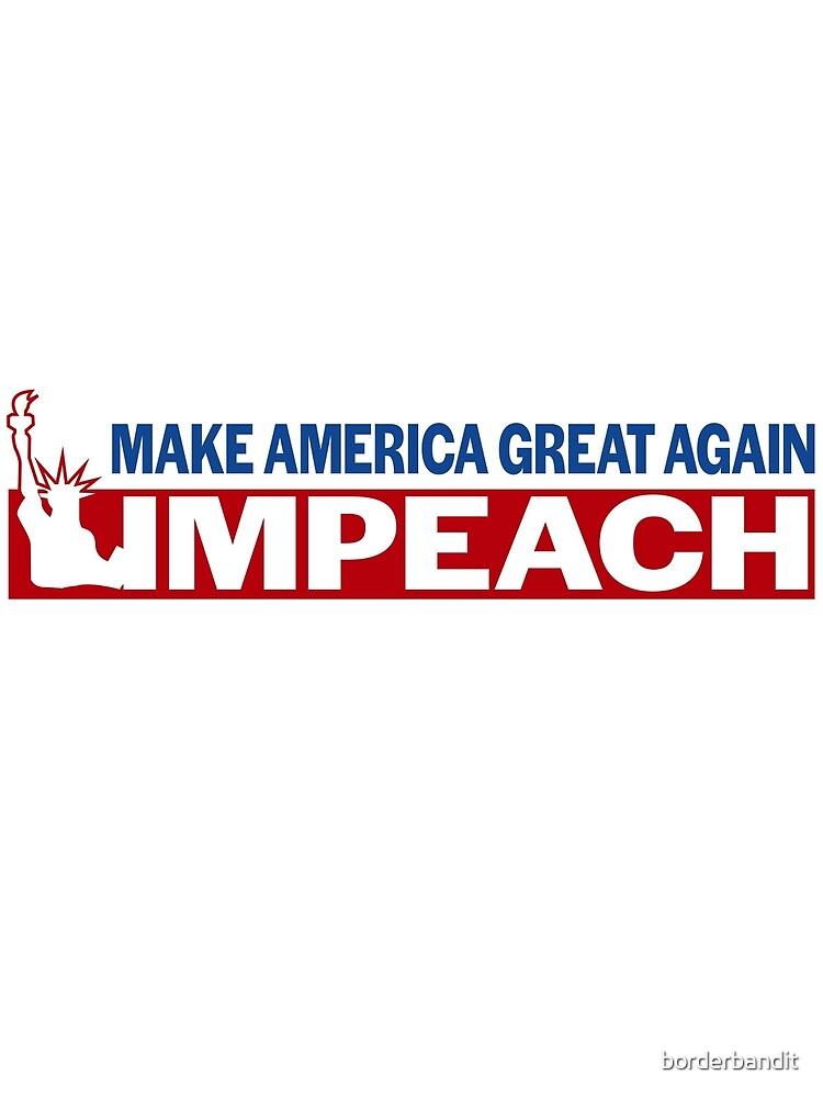 Vote to Impeach Donald Trump This November 2018 by borderbandit