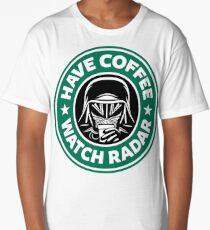 Have Coffee, Watch Radar Long T-Shirt