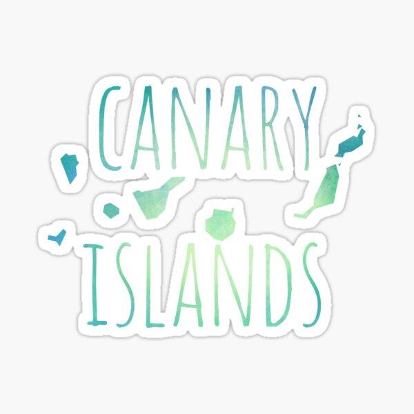 Islas Canarias Pegatina