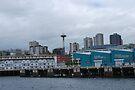 Seattle Skyline by Cathy Jones