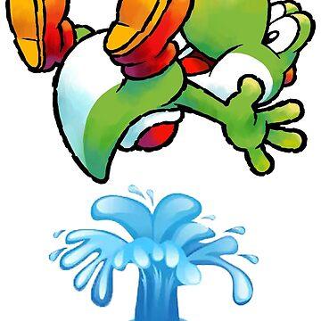 Flying Yoshi by eazypeazy
