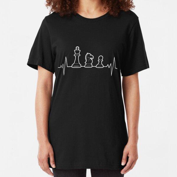 KIDS Eat Sleep Play Chess Family Fun Games Pawn King T-Shirt