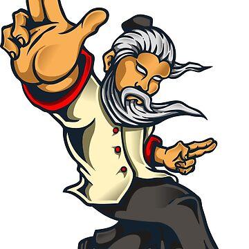 Kung Fu Master by wearitout