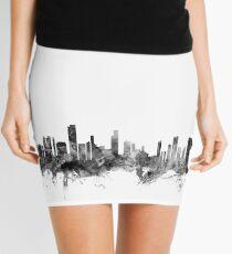 Honolulu Hawaii Skyline Mini Skirt