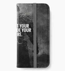 Never Let Fear Decide Your Future iPhone Wallet/Case/Skin