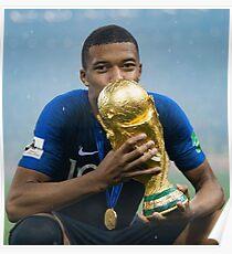 Kylian MBAPPE WINNER WORLDCUP Poster