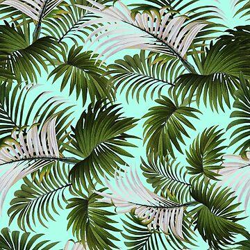 Tropical Leaf Pattern II by burcukyurek