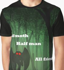 Mothman is 100% friend Graphic T-Shirt