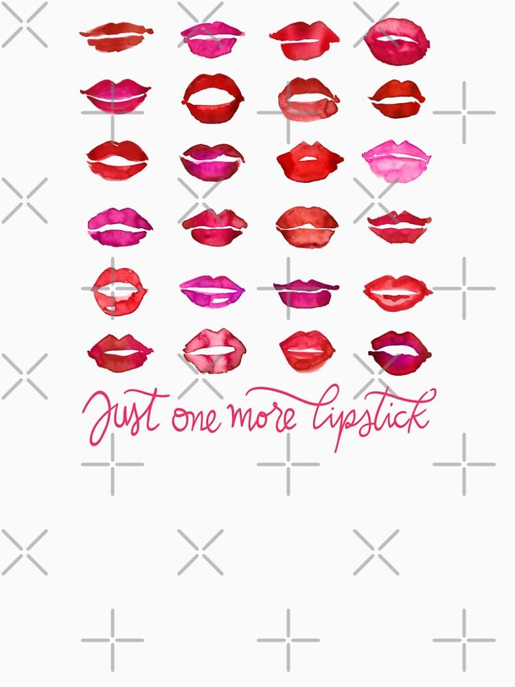 Just one more lipstick by blursbyai