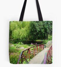 Botanical Bridge Tote Bag