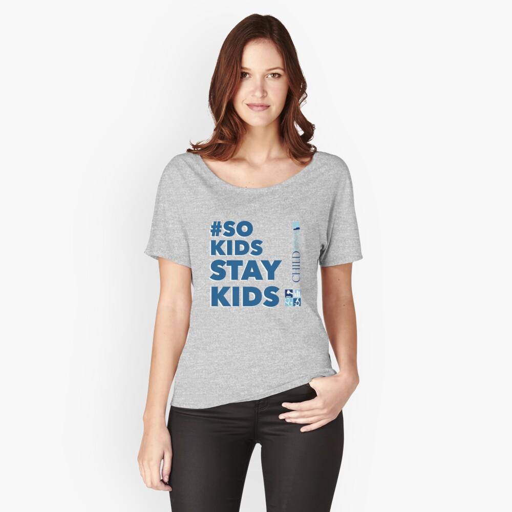 #SoKidsStayKids Relaxed Fit T-Shirt