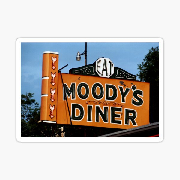 Moody's Diner, ME Sticker