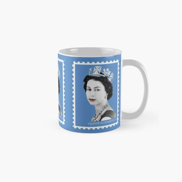 Queen Elizabeth II (Blue)  Classic Mug