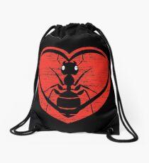 I love ants Drawstring Bag