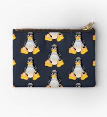 Linux Tux x4 Studio Pouch