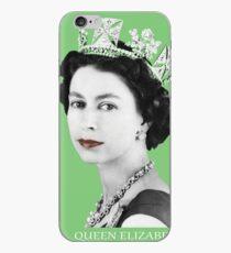 Queen Elizabeth II (Green) iPhone Case