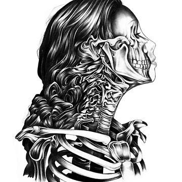 Esqueleto de sandraink