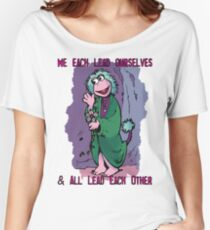 Fraggle Rock TV Show 80s Muppets Cartoon Comic Mokey Women's Relaxed Fit T-Shirt