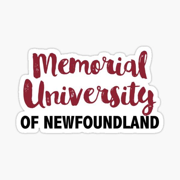 Memorial University of Newfoundland Sticker