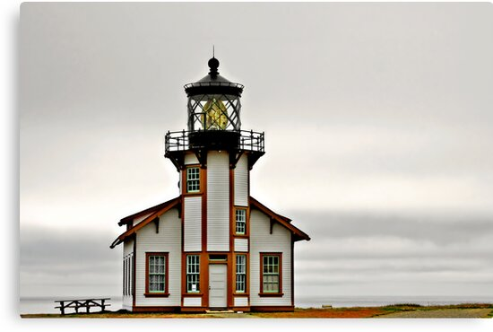 Point Cabrillo Lighthouse, CA by Christine Till  @    CT-Graphics