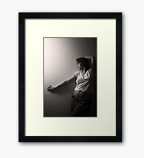 spontaneous Framed Print