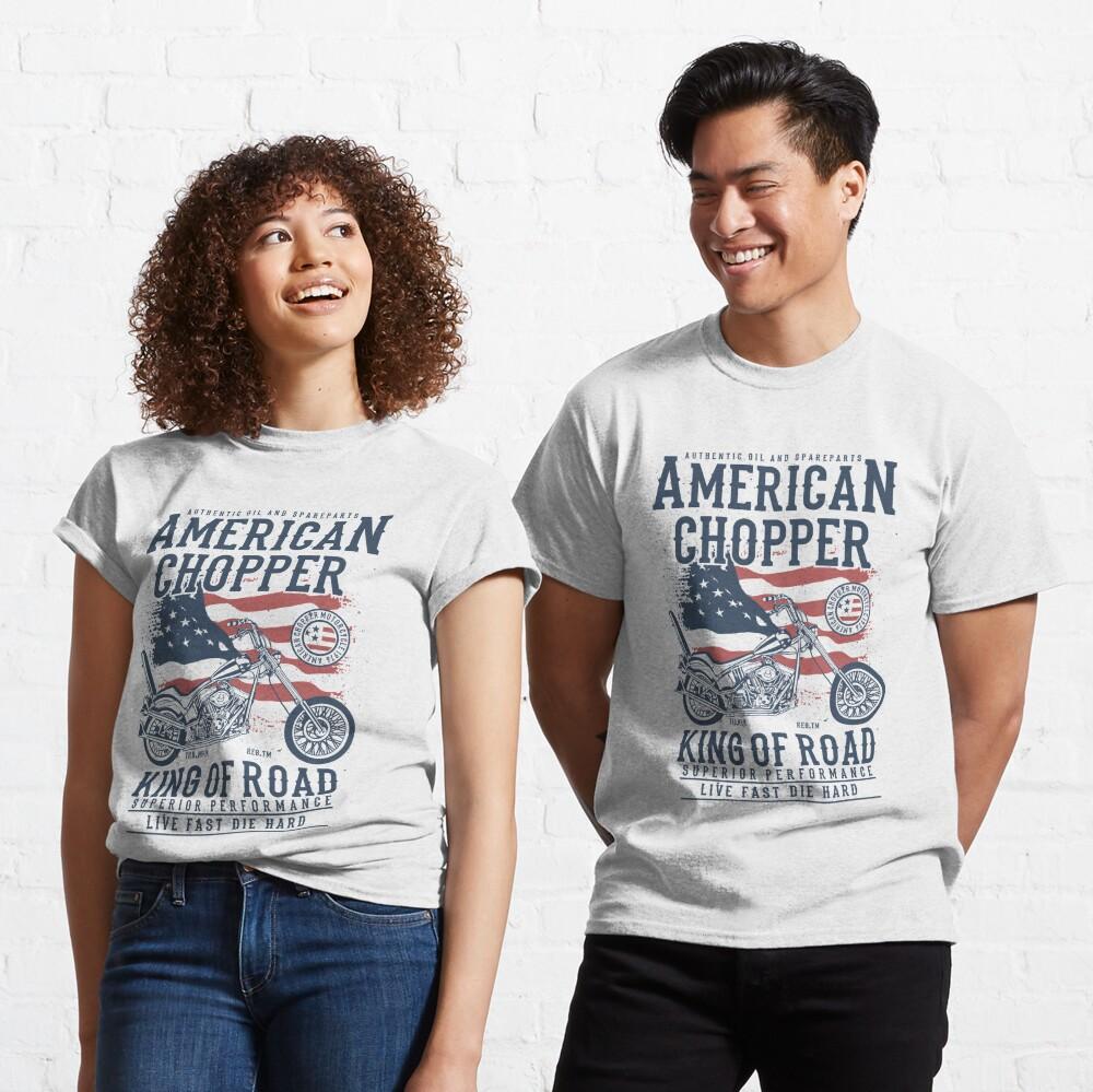 American Chopper King of Road Biker T-shirt Classic T-Shirt