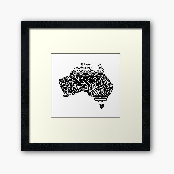 Aussie Ways Framed Art Print