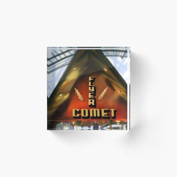 Whalom Park Ride Classics - Flyer Comet Acrylic Block