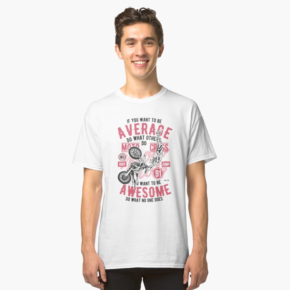 Moto Cross Extreme T-shirt Classic T-Shirt Front