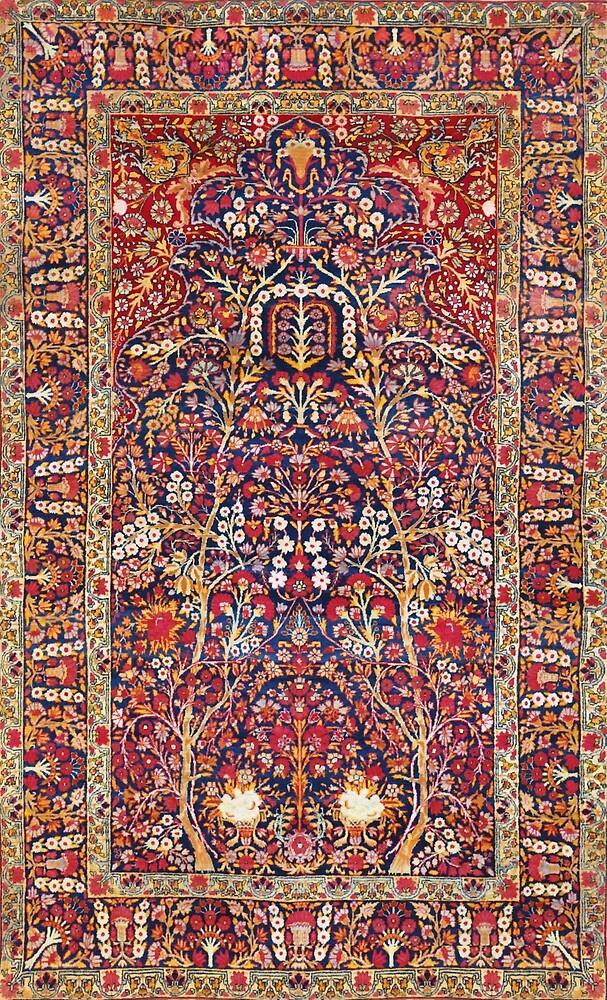 Laver Kirman Persian Rug by Vicky Brago-Mitchell