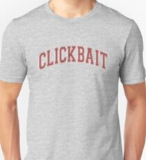 David Dobrik - Clickbait (Red and Grey) Unisex T-Shirt