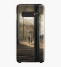 Meeting at the Train Station Case/Skin for Samsung Galaxy