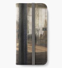 Meeting at the Train Station iPhone Wallet/Case/Skin