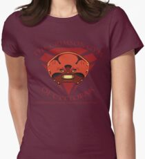 The Crimson Gym of Cyttorak Womens Fitted T-Shirt