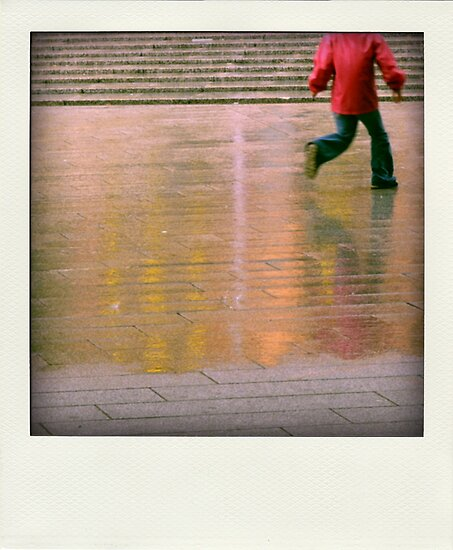 Playing in the rain... by polaroids