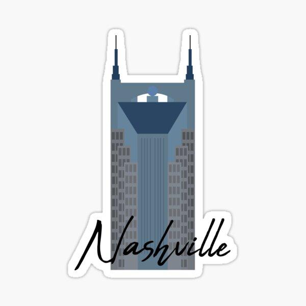 Nashville Landmark Sticker