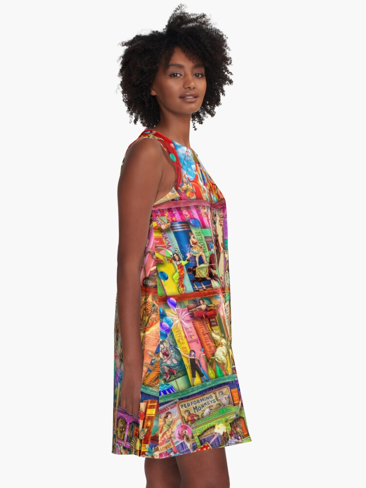 Alternate view of The Marvelous Circus A-Line Dress