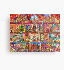 The Marvelous Circus Metal Print