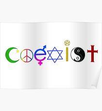 Coexist Poster