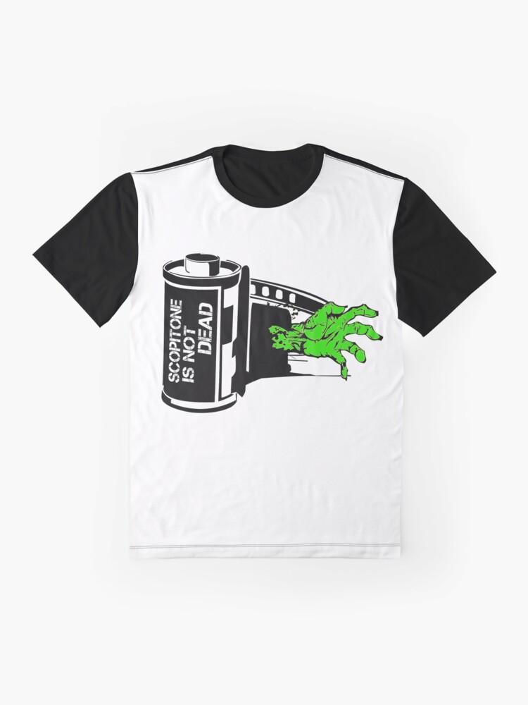 T-shirt graphique ''ZOMBIE SCOP'': autre vue