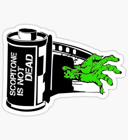 ZOMBIE SCOP' Sticker